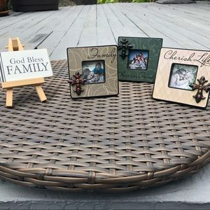 Picture frame gift set